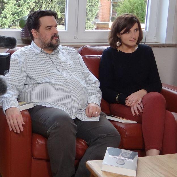 Michel Dufranne et Maud Carlier d'Odeigne