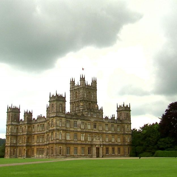 Highclere Castle - lieu de tournage de la série Downton Abbey