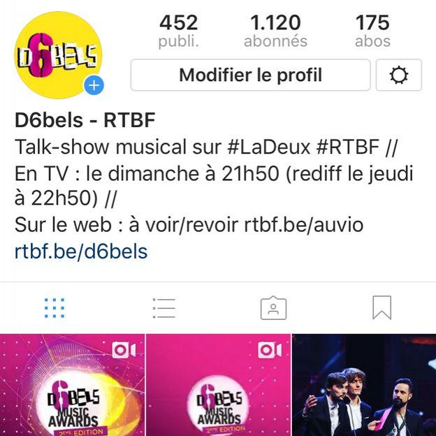 Toutes les photos en backstage sur notre compte Instagram !