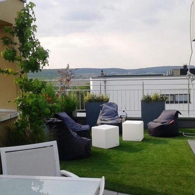 Aménagement de terrasses et balcons - RTBF Jardins loisirs
