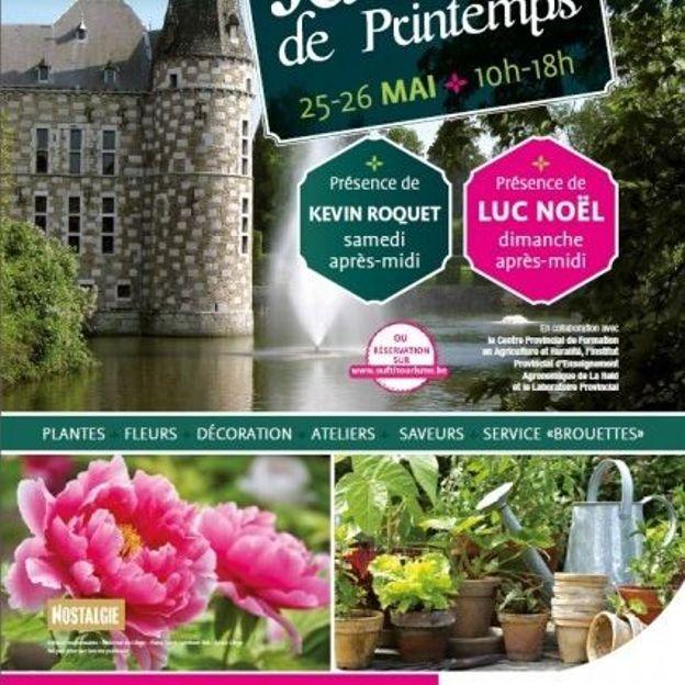 """Foire """"Jardins de printemps"""" à Jehay"""