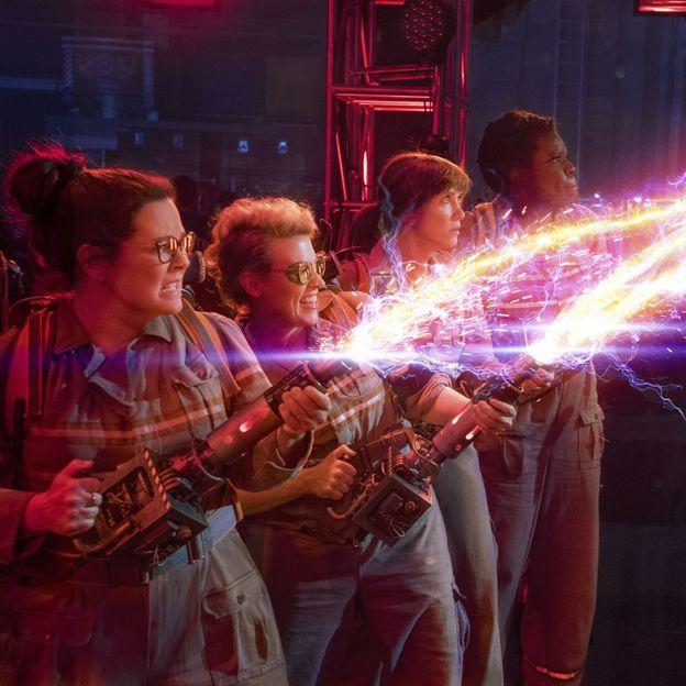 "Melissa McCarthy, Kristen Wiig, Kate McKinnon, et Leslie Jones dans le reboot de ""SOS Fantômes"""