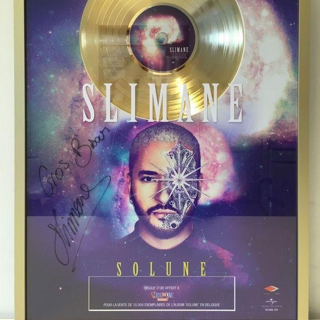 Offrez-vous le disque d'or de Slimane !