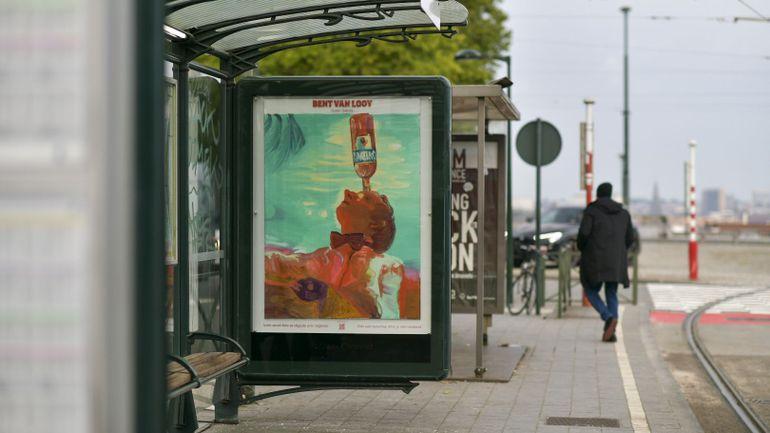 Des artistes belges exposés dans les rues de Bruxelles, Namur, Anvers et Gand