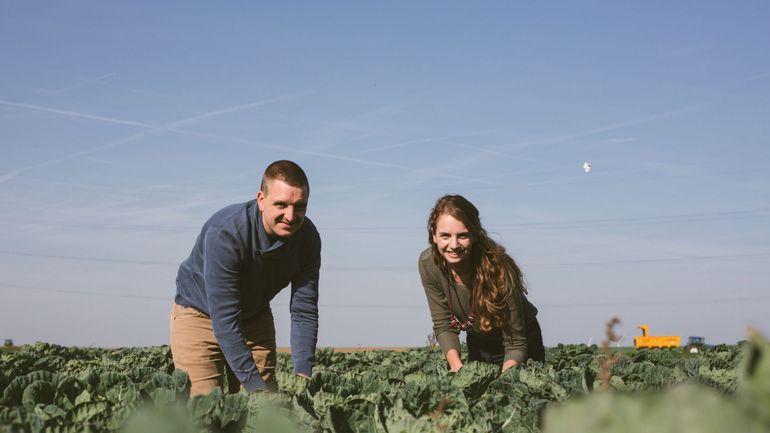 Thomas et Hélène Geeraerts ont fait le choix de l'agriculture biologique il y a 5 ans