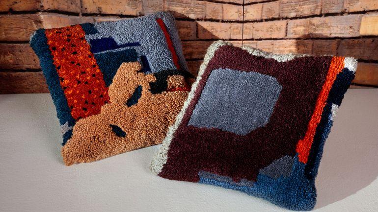 Tendance déco abstraction et laine en folie pour un intérieur réchauffé et moderne
