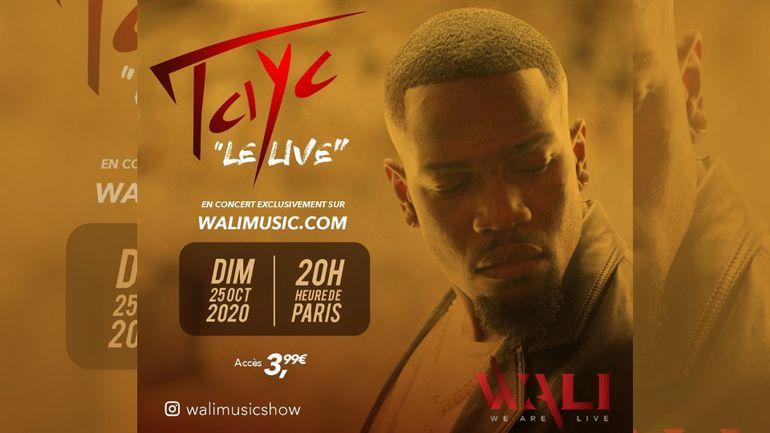 Wali Music / Tayc en Live ! #Concours