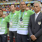 Le staff algérien est prêt à chanter