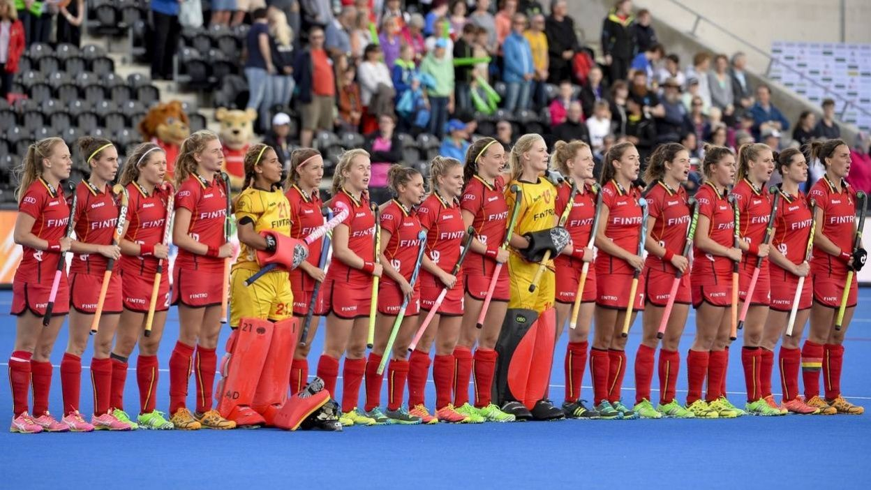 Hockey : World League Belgique - Espagne