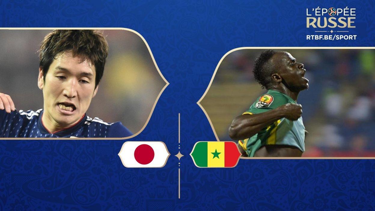 Japon Senegal streaming vf gratuit Sénégal vs Japon streaming live HD