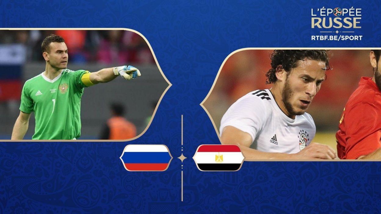 Match Russie Egypte