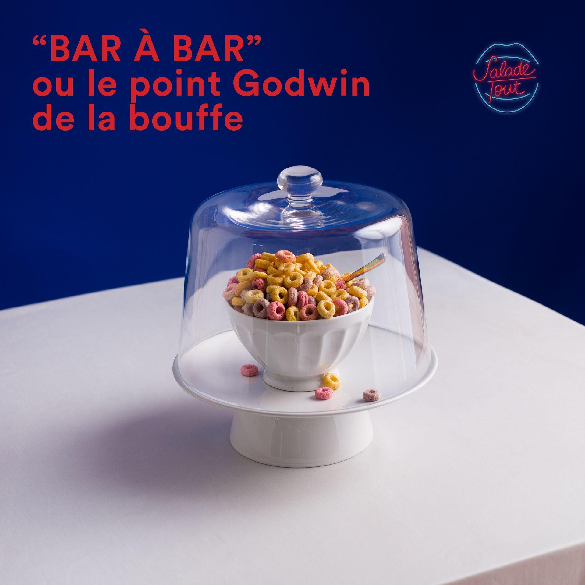 """Salade Tout #6 - """"BAR À BAR"""" ou le point Godwin de la bouffe - Episode 6"""