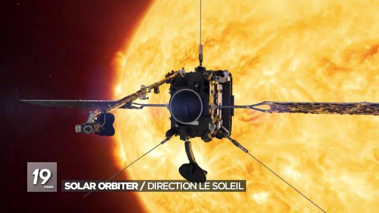 Solar orbiter direction le soleil