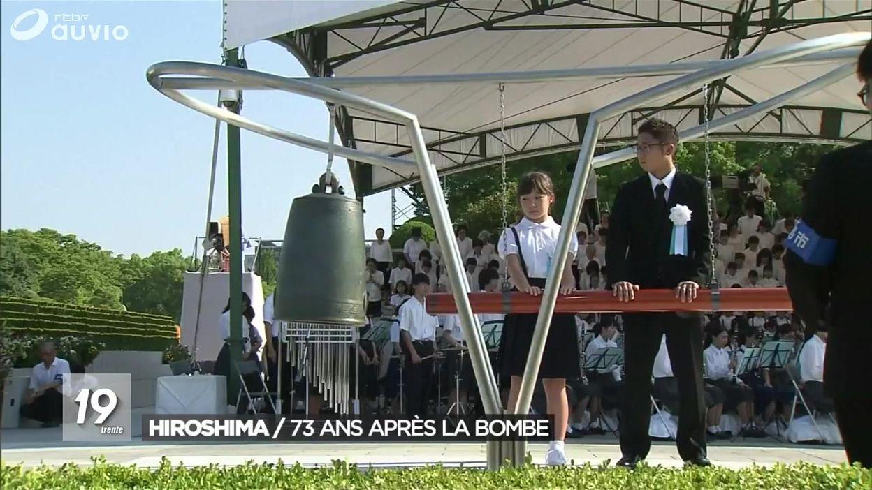 Hiroshima : 73 ans après la bombe