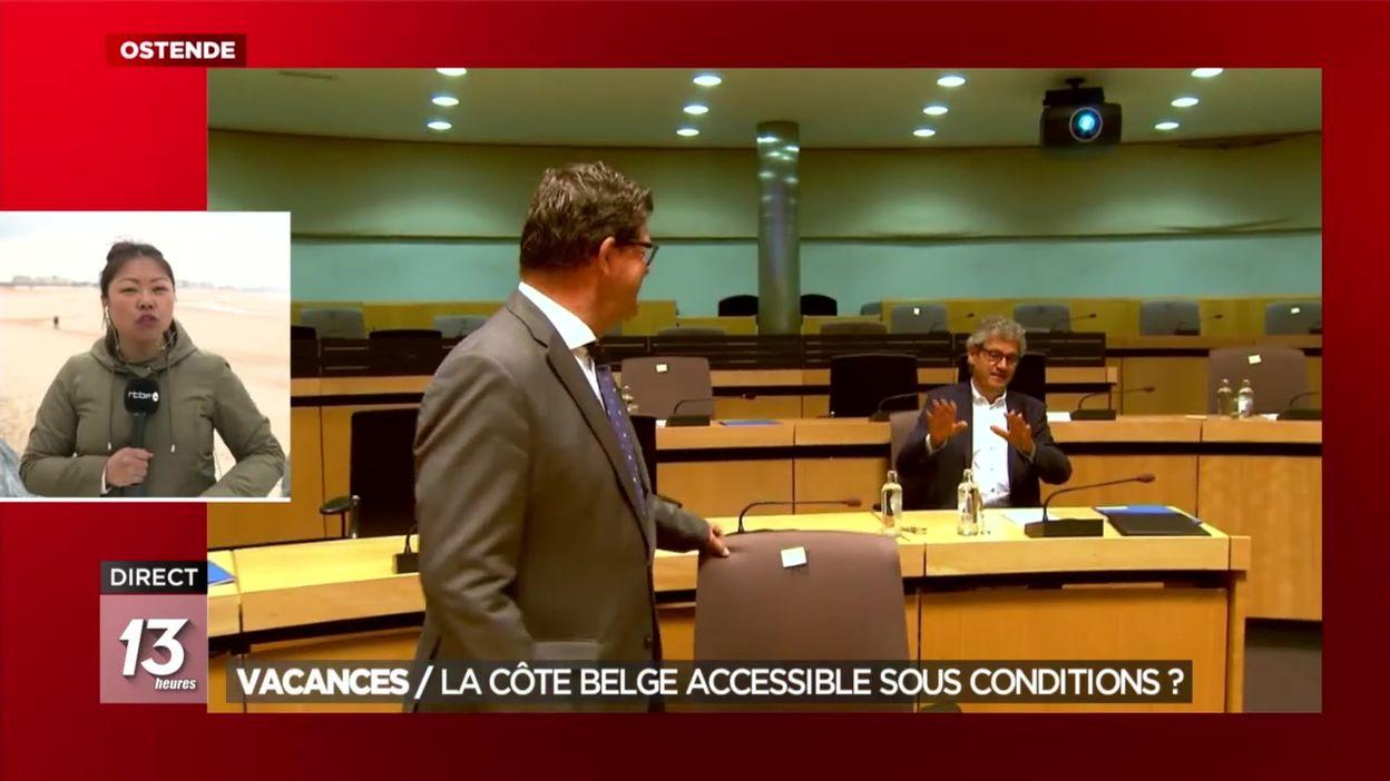 Vacances : la côte belge accessible sous conditions ?