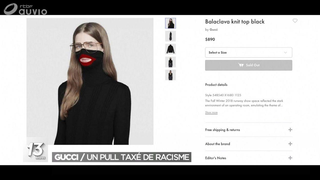 53f6c49b0ad Gucci   un pull taxé de racisme