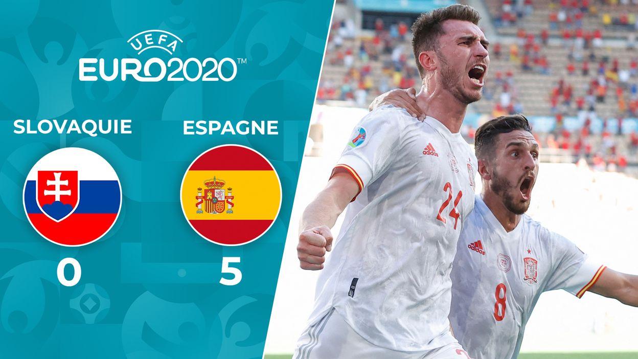 Slovaquie - Espagne : Le Résumé du Match