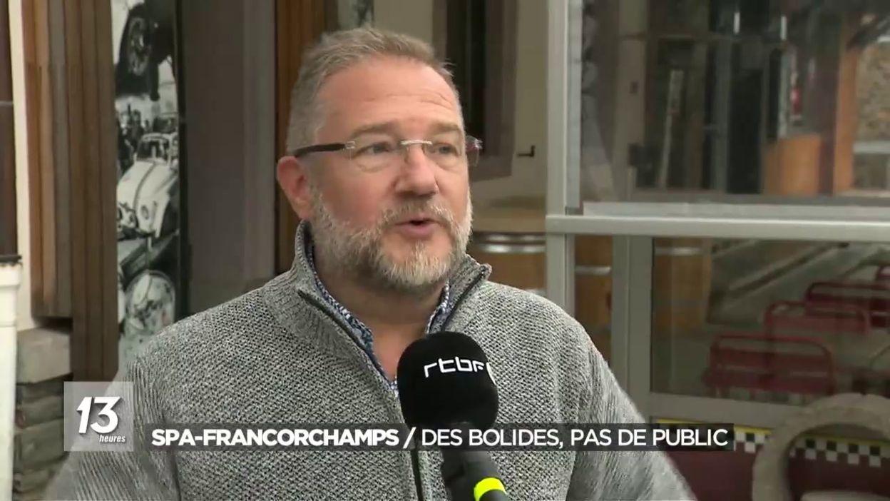 Spa-Francorchamps : Des bolides pas de public