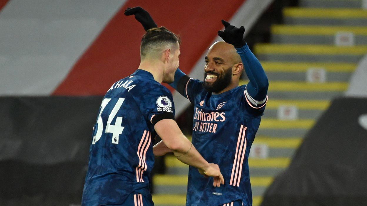 Slavia Prague - Arsenal : le 0-2 'd'Alexandre Lacazette