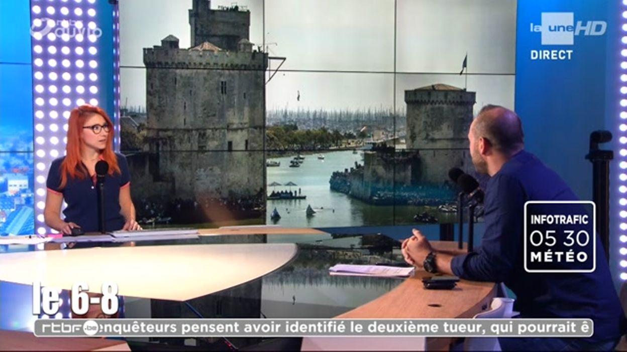 Un saut de 26 mètres depuis l'une des tours de La Rochelle