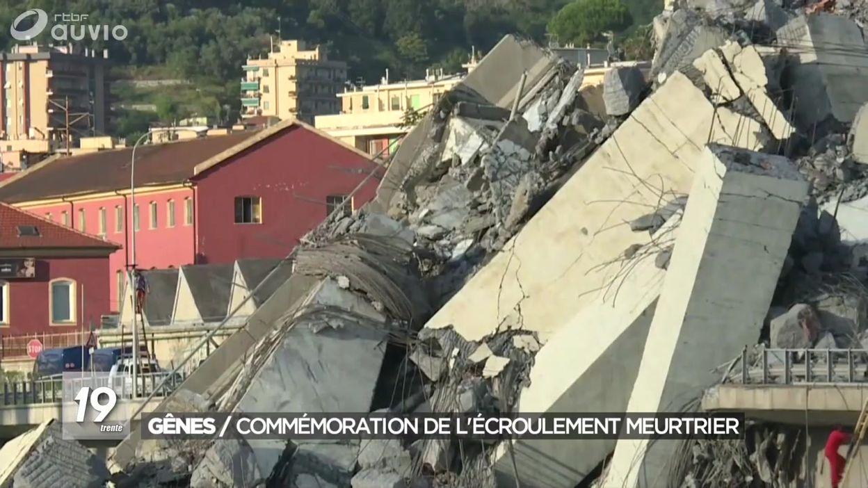 Pont de Gênes : un an après l'effondrement
