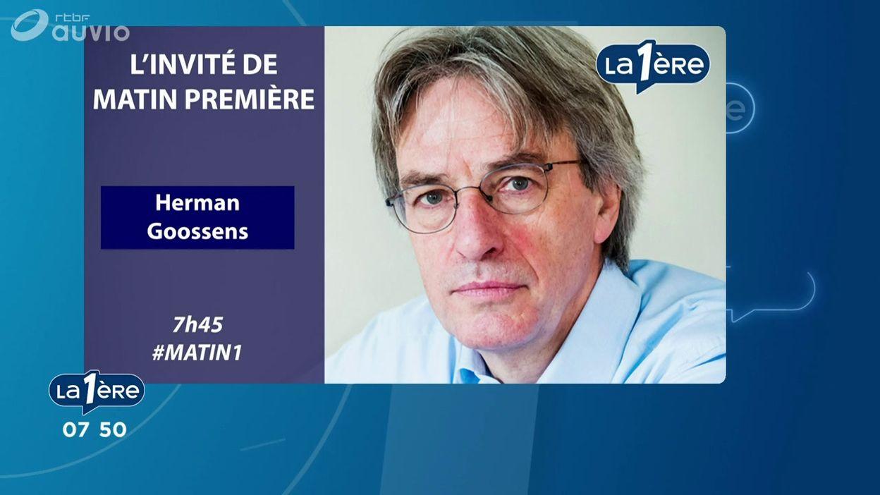 L'invité de Matin Première : Herman Goossens