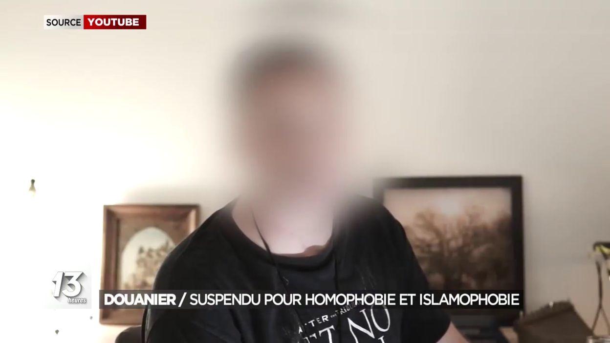 Douanier / Suspendu pour homophobie et islamophobie