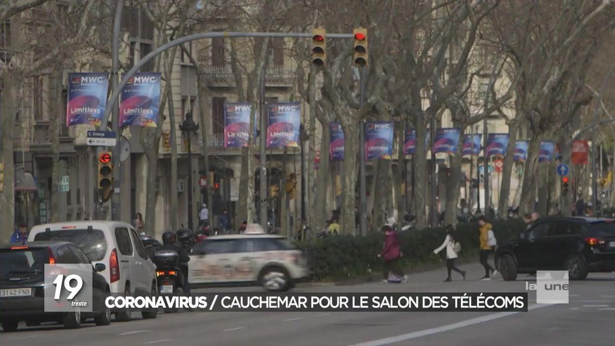 Coronavirus : Le salon du mobile de Barcelone déserté