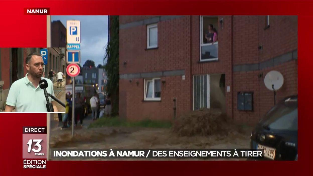 Inondations à Namur : des enseignements à tirer