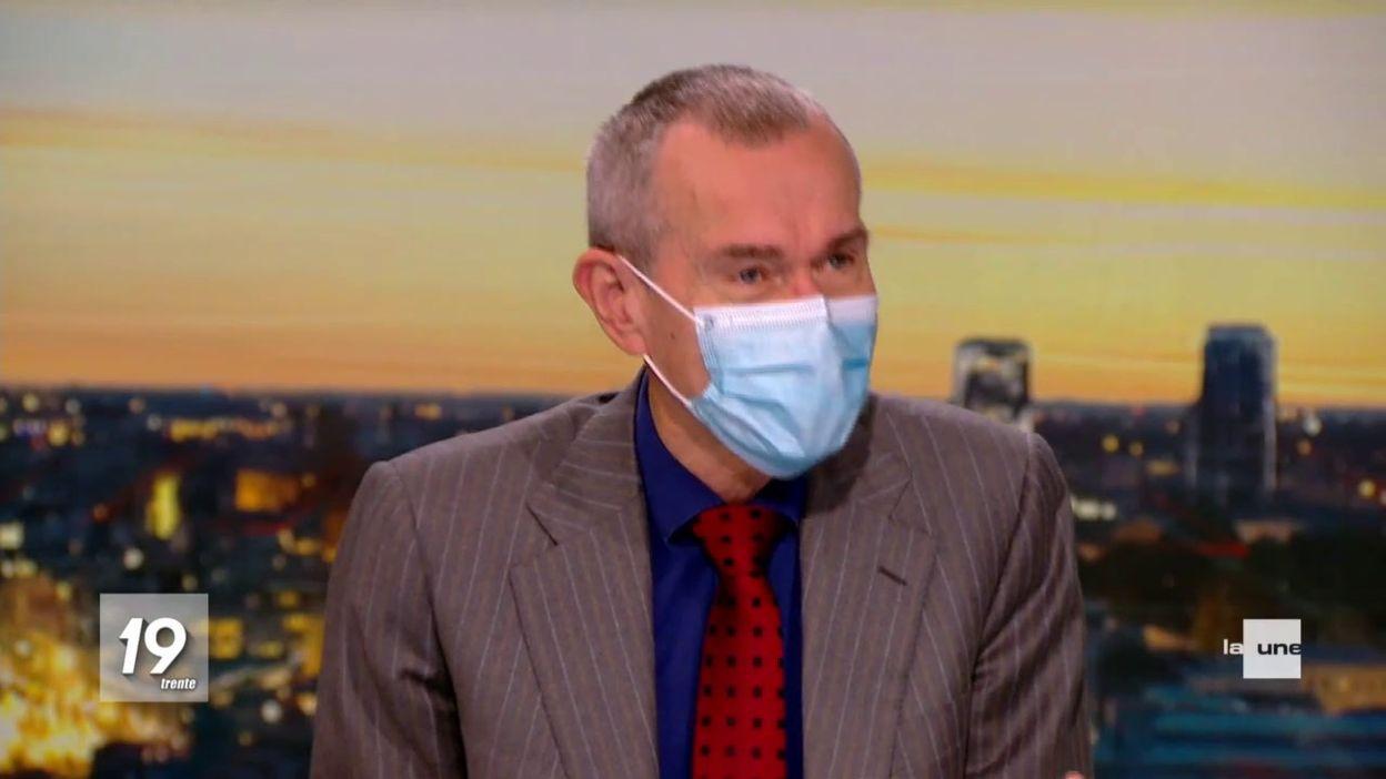 Vaccination : Frank Vandenbroucke est notre invité