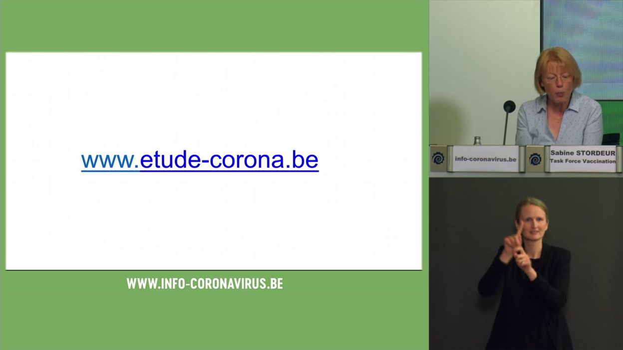 Coronavirus en Belgique : une 37e étude participative de Sciensano