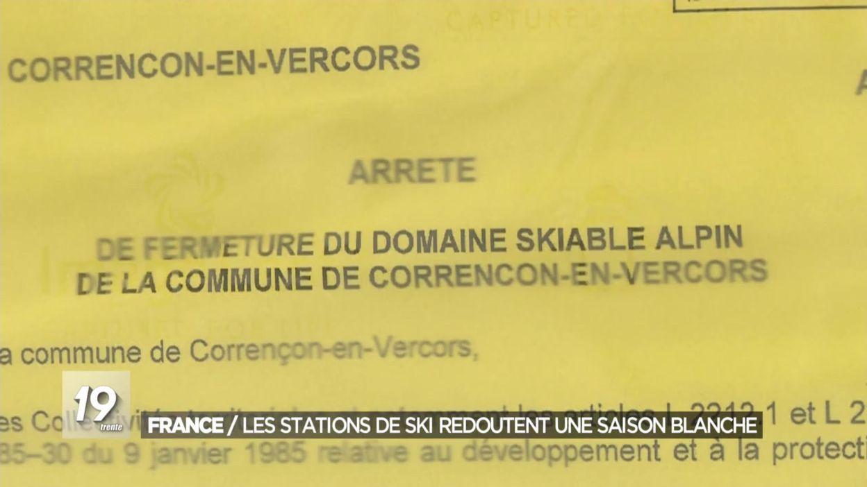 France : les stations de ski disent jouer leur survie