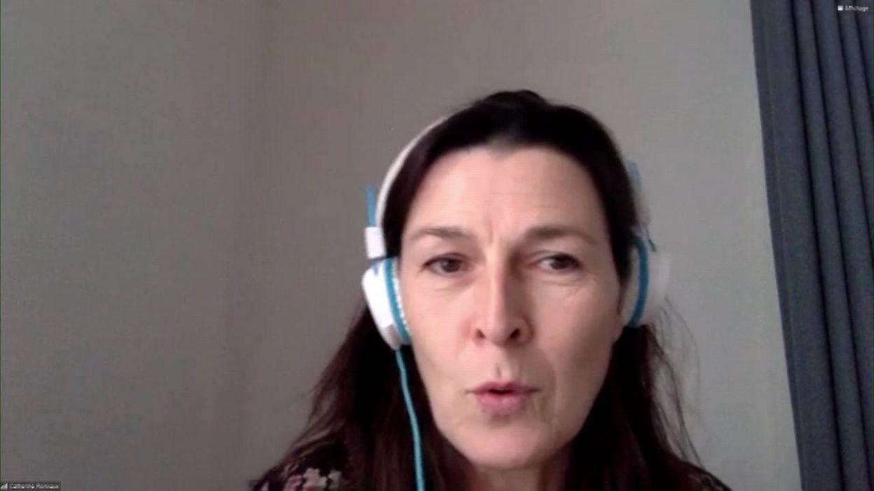 Catherine Ronvaux - Des nouvelles de l'espace !!