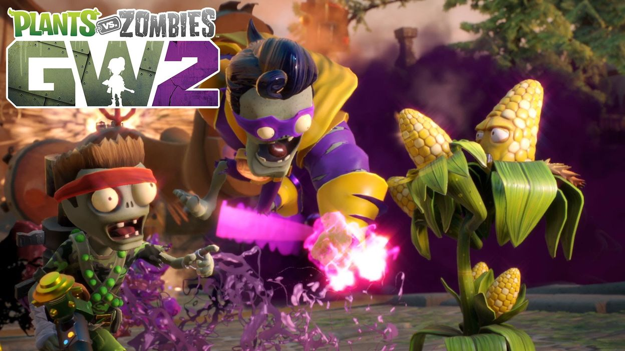 Plants Vs Zombies Garden Warfare 2 Launch Gameplay Trailer 02 03 2016