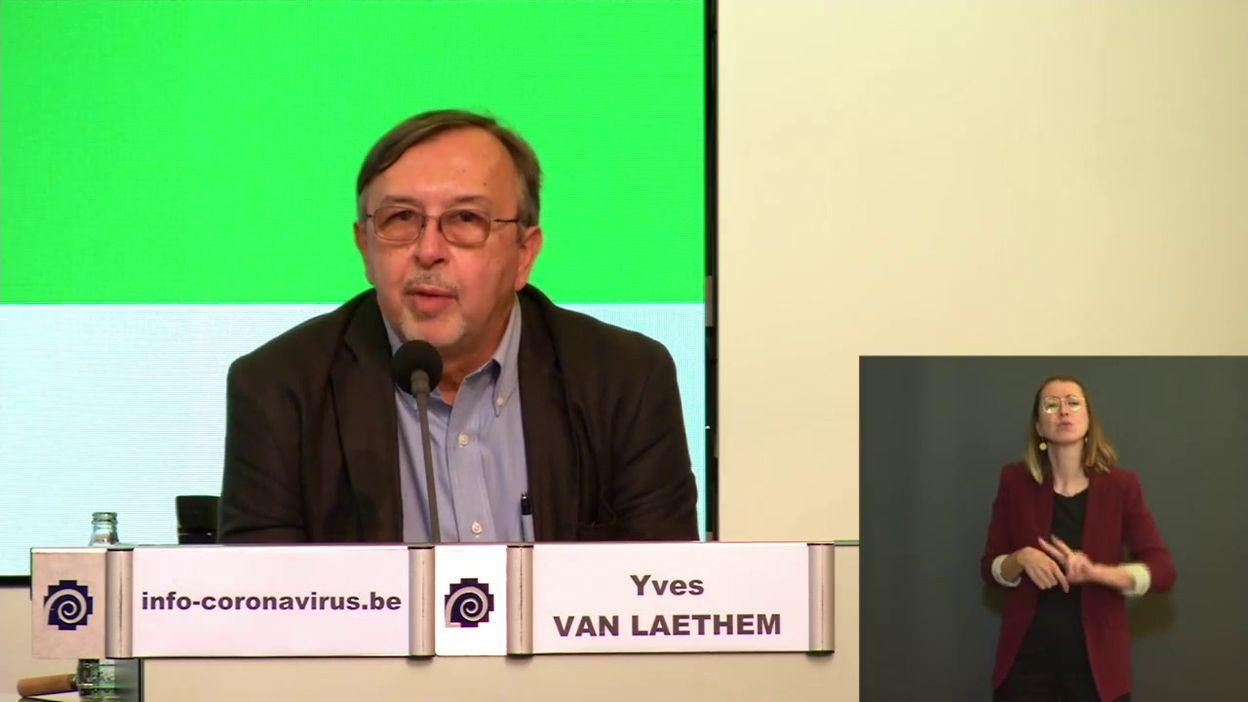 Point presse coronavirus 9/9: à la recherche d'un vaccin... (Y. Van Laethem)