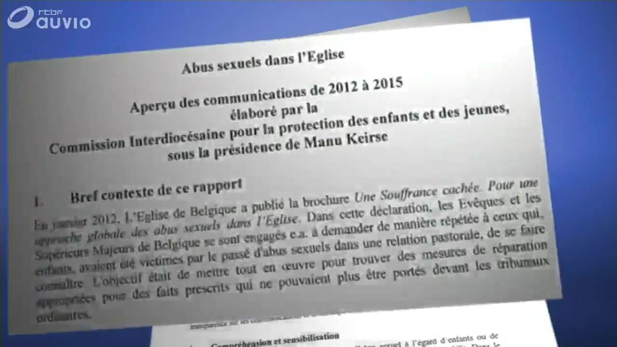 Belgique : rapport sur la pédophilie au sein de l'Eglise