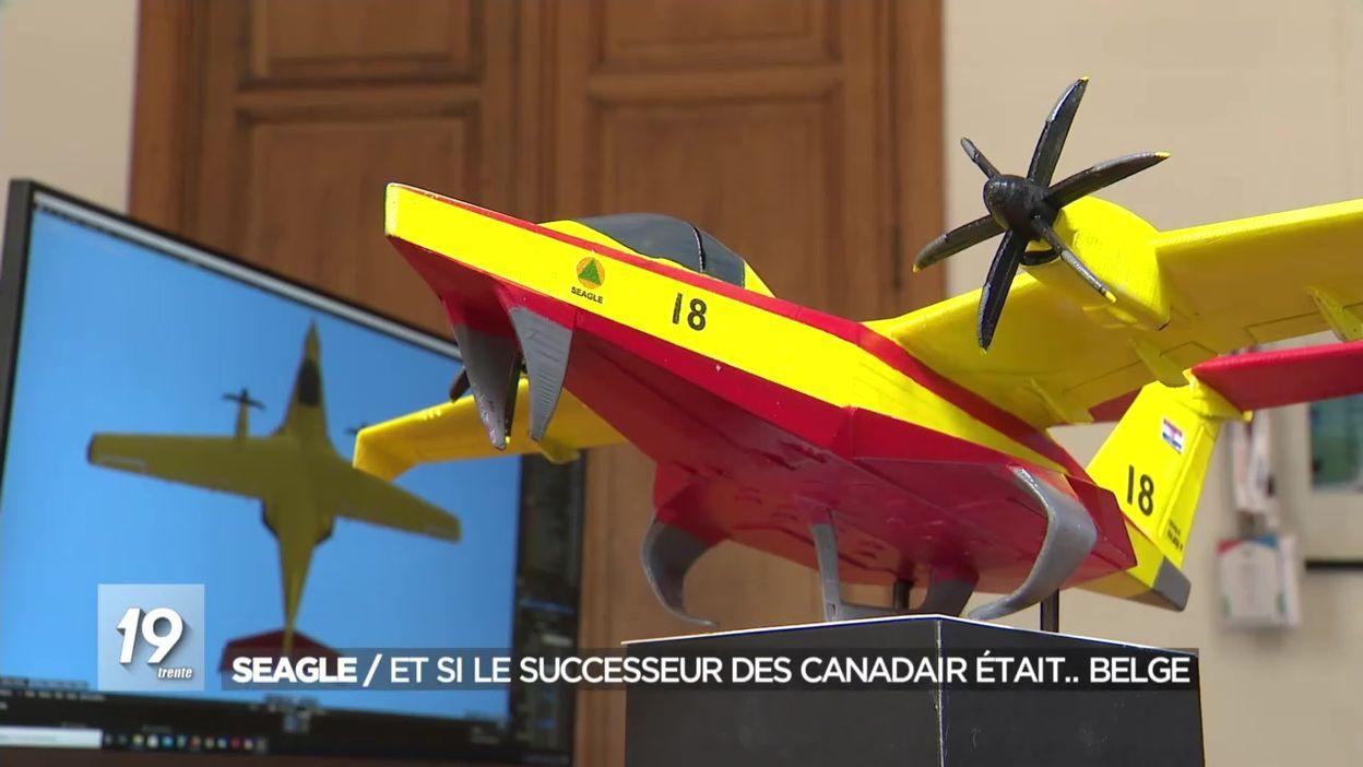 Seagle : et si le successeur des Canadair était.. belge