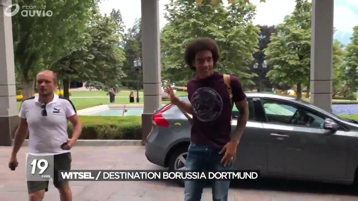 Transfert d'Axel Witsel à Dortmund