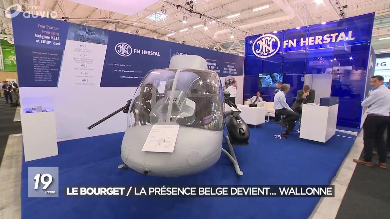 Aéronautique : la présence belge au salon Le Bourget