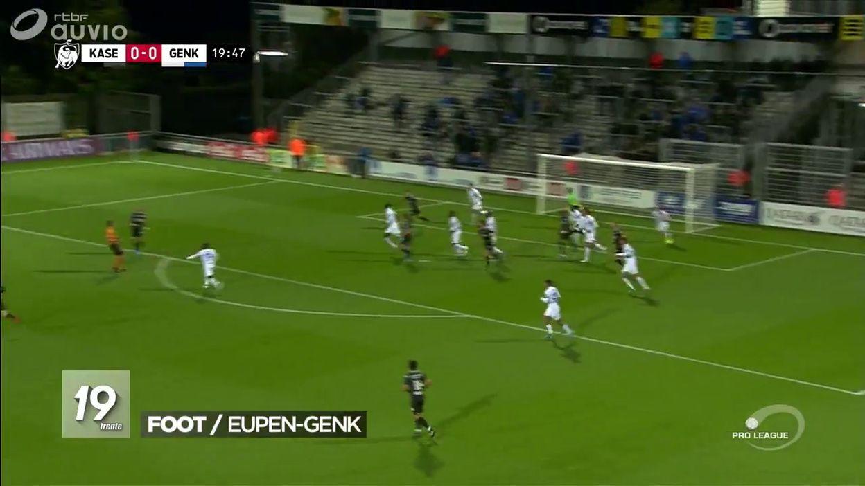 Football : Eupen - Genk