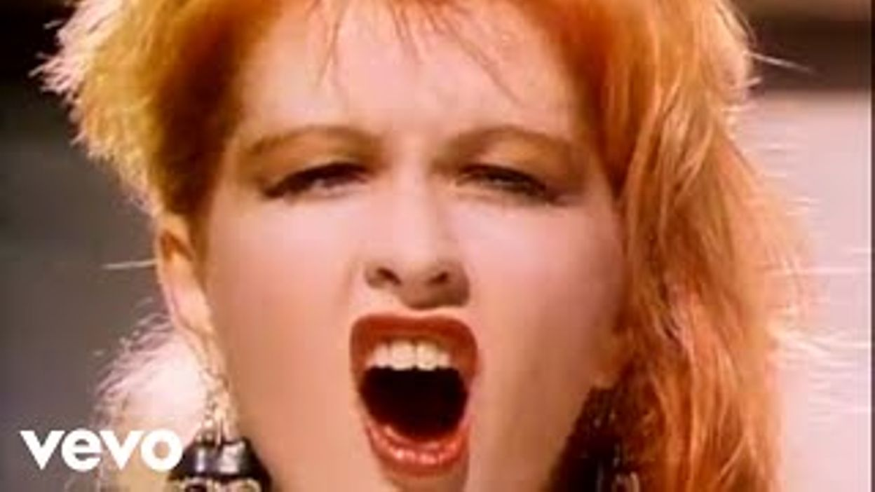 Cyndi Lauper Girls Just Want To Have Fun Official Video 06 11 2018