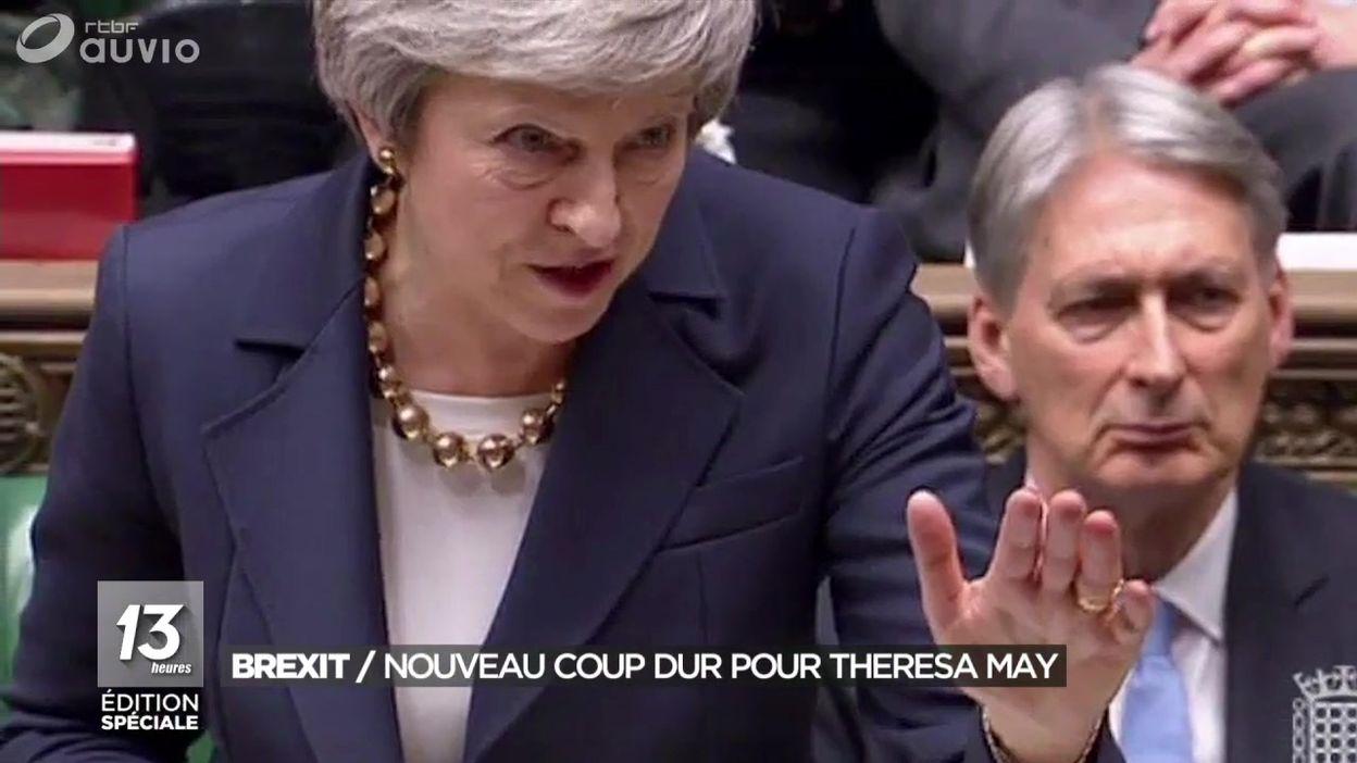 Brexit : un nouveau coup dur pour Theresa May
