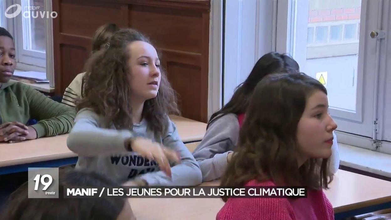 Manifestation: les jeunes se mobilisent pour la justice climatique