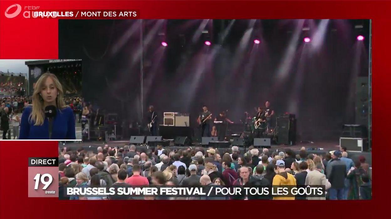 Le Brussels Summer Festival pour tous les goûts