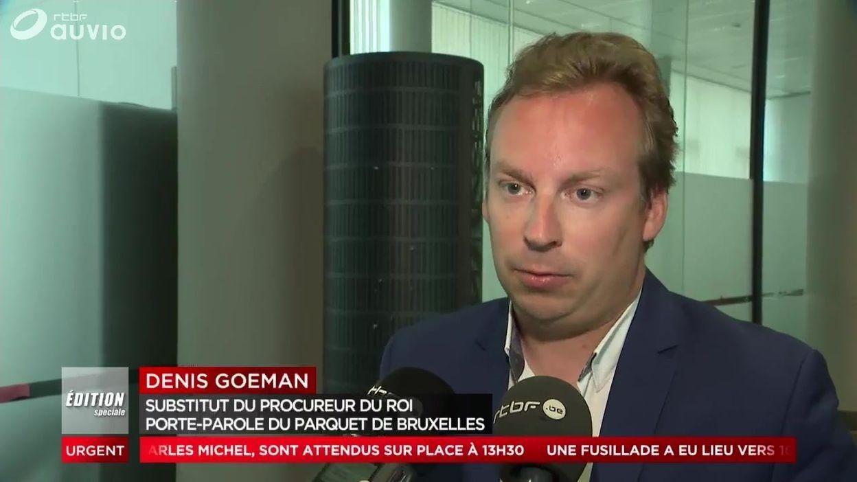 Denis Goeman Porte parole du parquet de Bruxelles