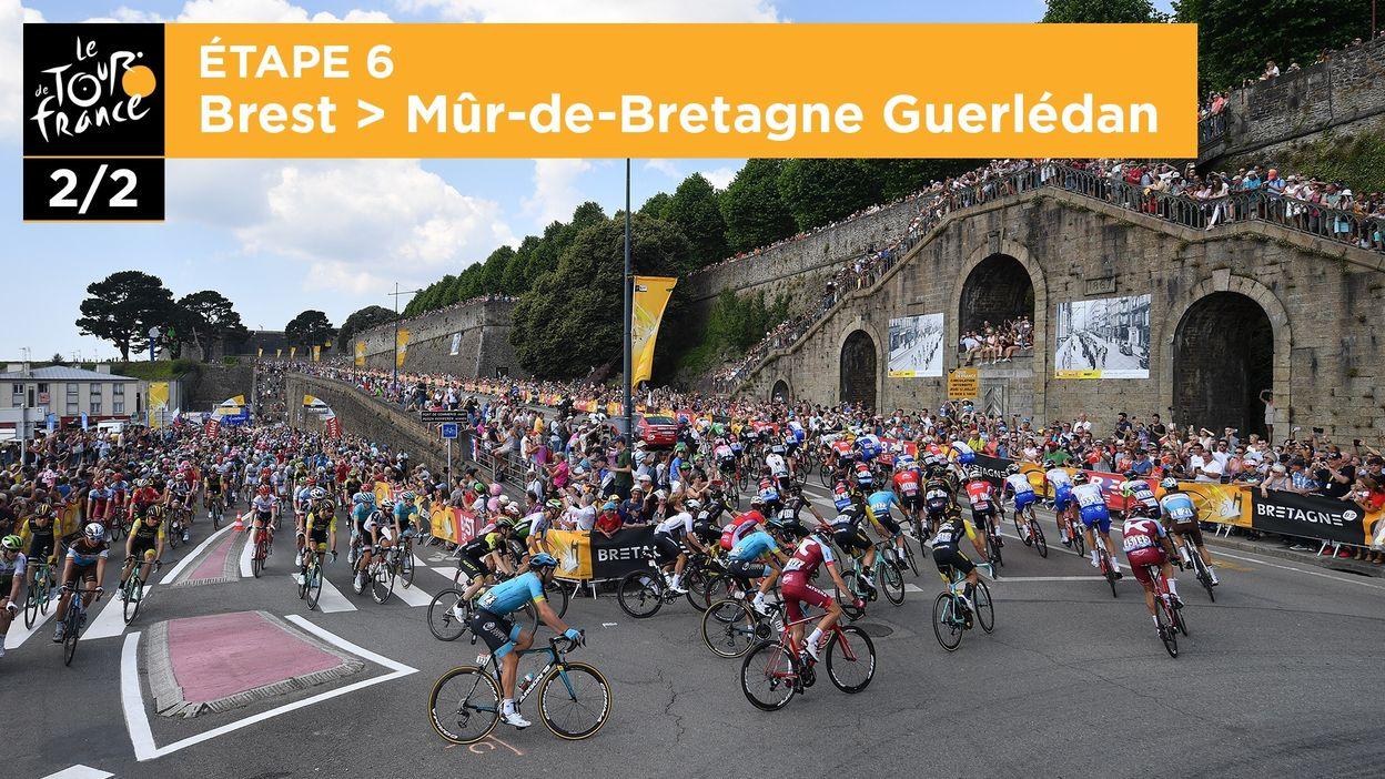 6ème étape : Brest > Mûr-de-Bretagne Guerlédan (2/2)
