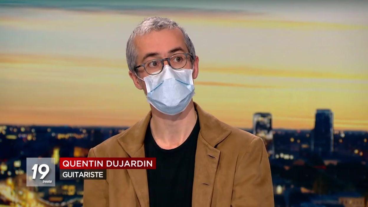 Quentin Dujardin, guitariste : laisser revivre la culture