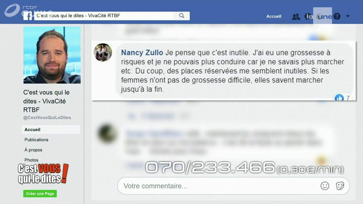 Vos commentaires sur Facebook