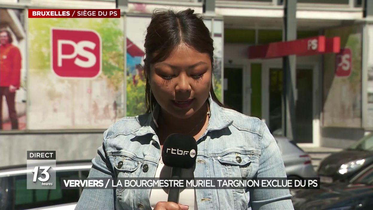 Verviers : la bourgmestre Muriel Targnion exclue du PS
