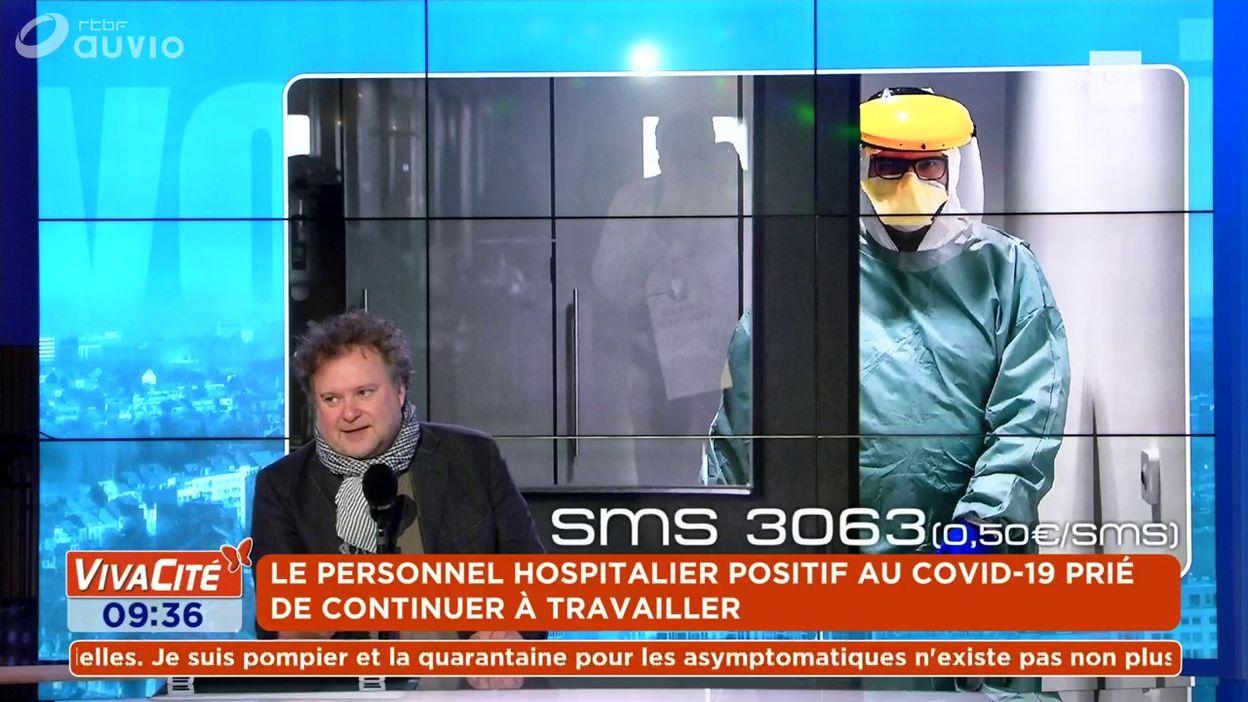 Le personnel hospitalier positif au Covid-19 prié de continuer à travailler